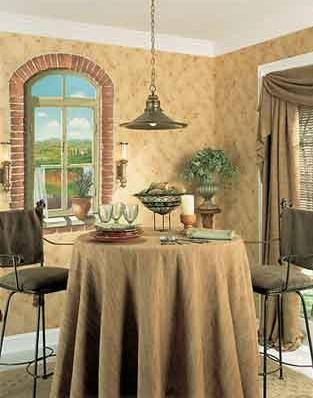 Examples Of Partial Wall Murals Are: