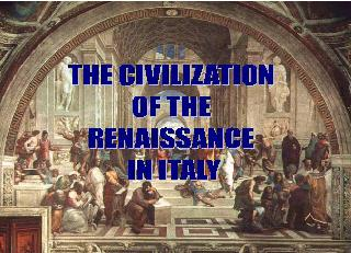 an introduction to the history of renaissance food The renaissance is a historical period with some important lessons to teach us about how to improve the world today we need to study it not for its own sake.