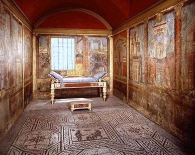 Candida martinelli 39 s italophile site life in italy for Ancient roman interior decoration
